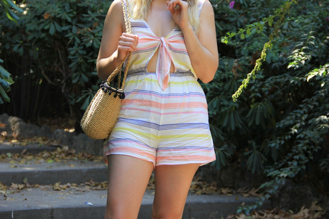 Holiday style playsuit