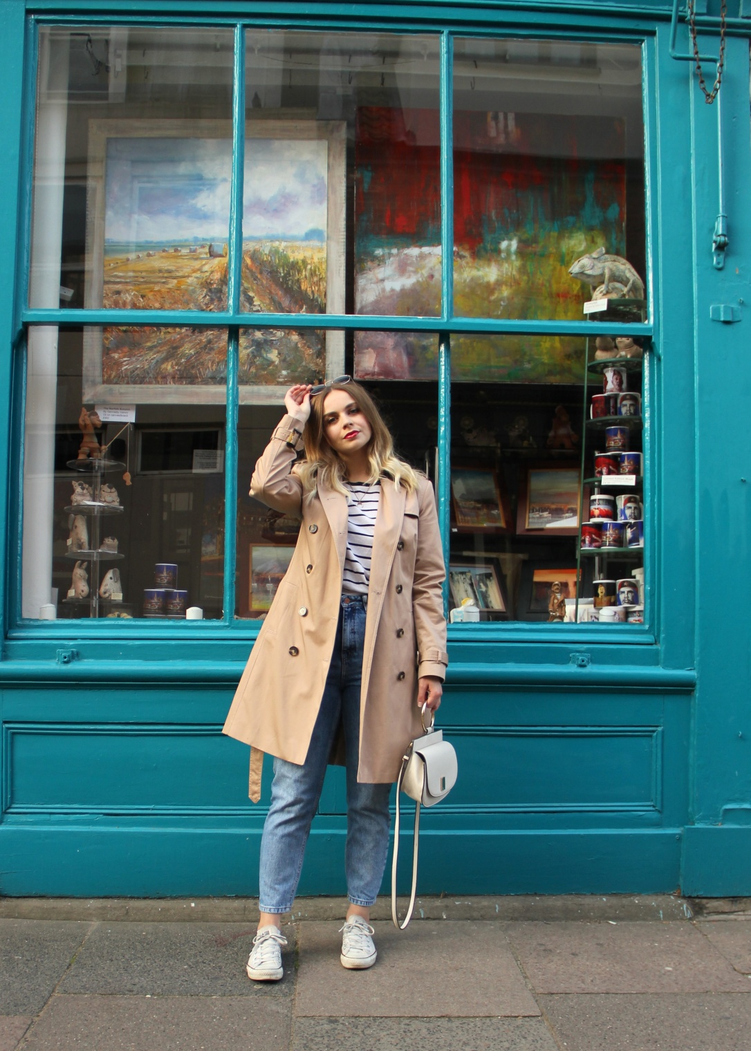 How to style a trench coat casual