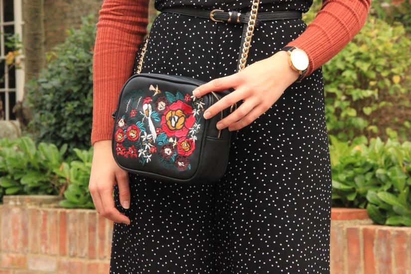 Sophar So Good Embroidered cross body bag