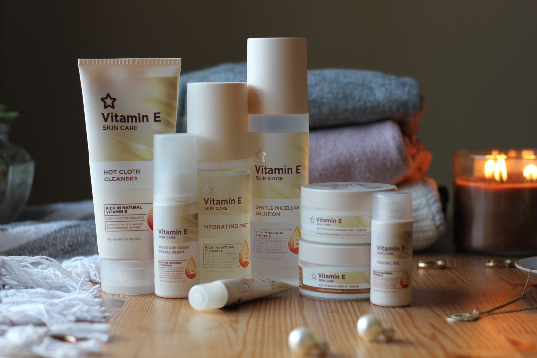 Superdrug Vitamin E skincare range review