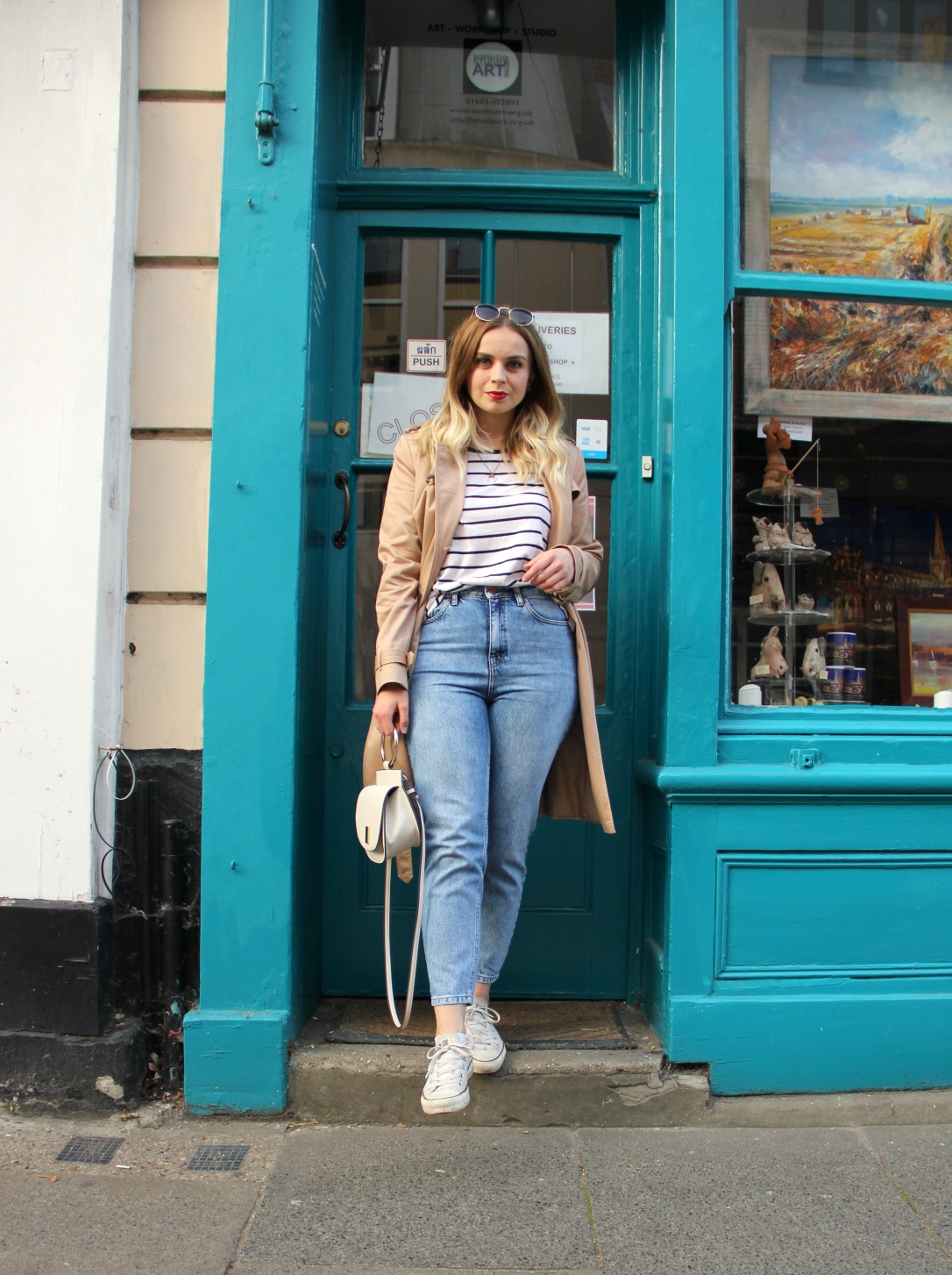 Ways to style a trench coat casual