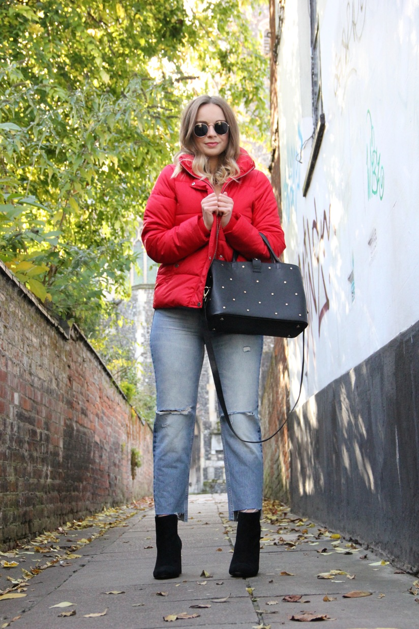 What to wear with a padded jacket