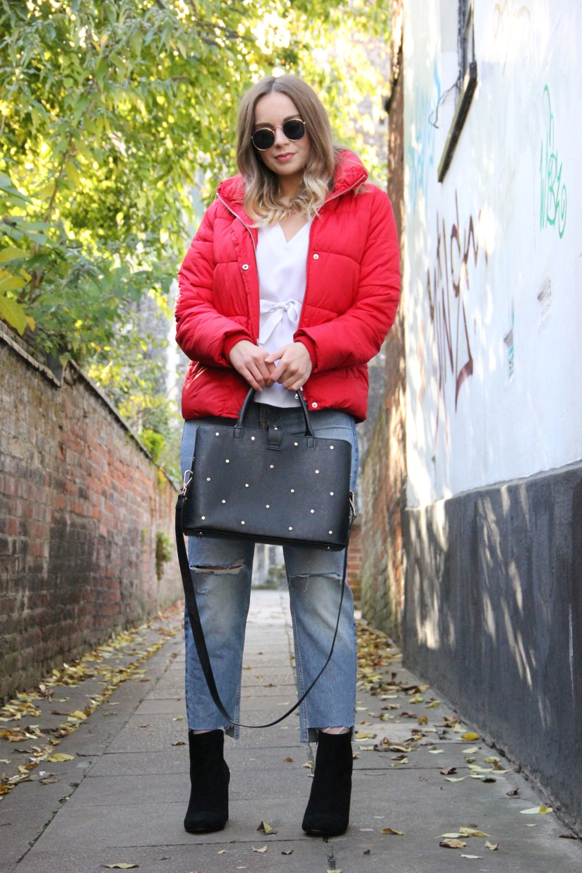 What to wear with a puffa jacket