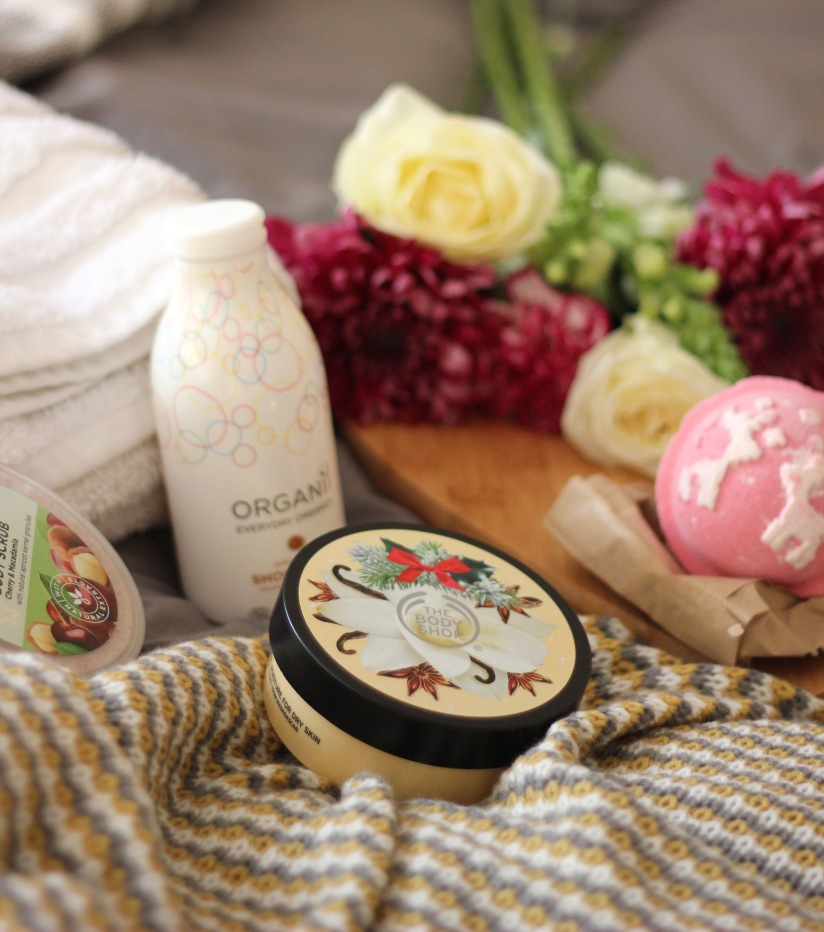 Winter bath and body products