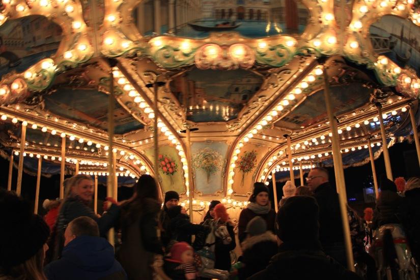 Gdansk Christmas Market Carousel