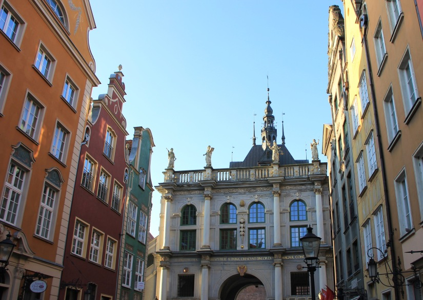 Gdansk Poland old town