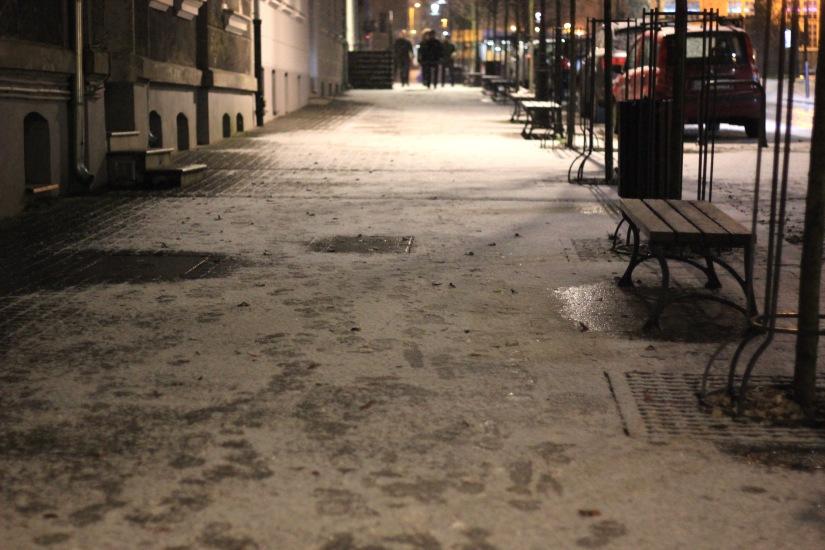 Gdansk snow