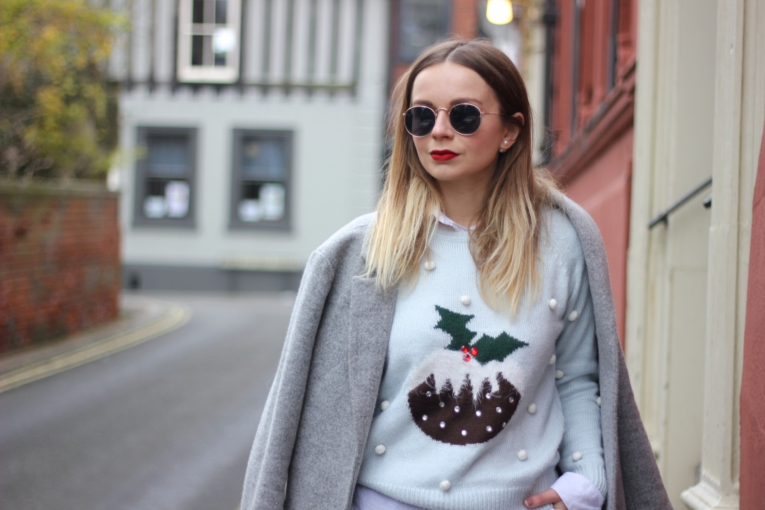 How to style a christmas jumper