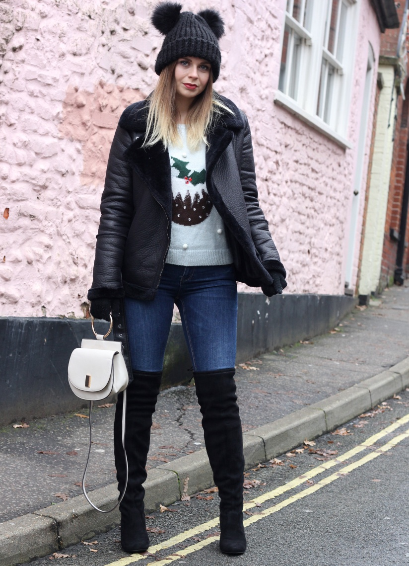 Ways to style a christmas jumper