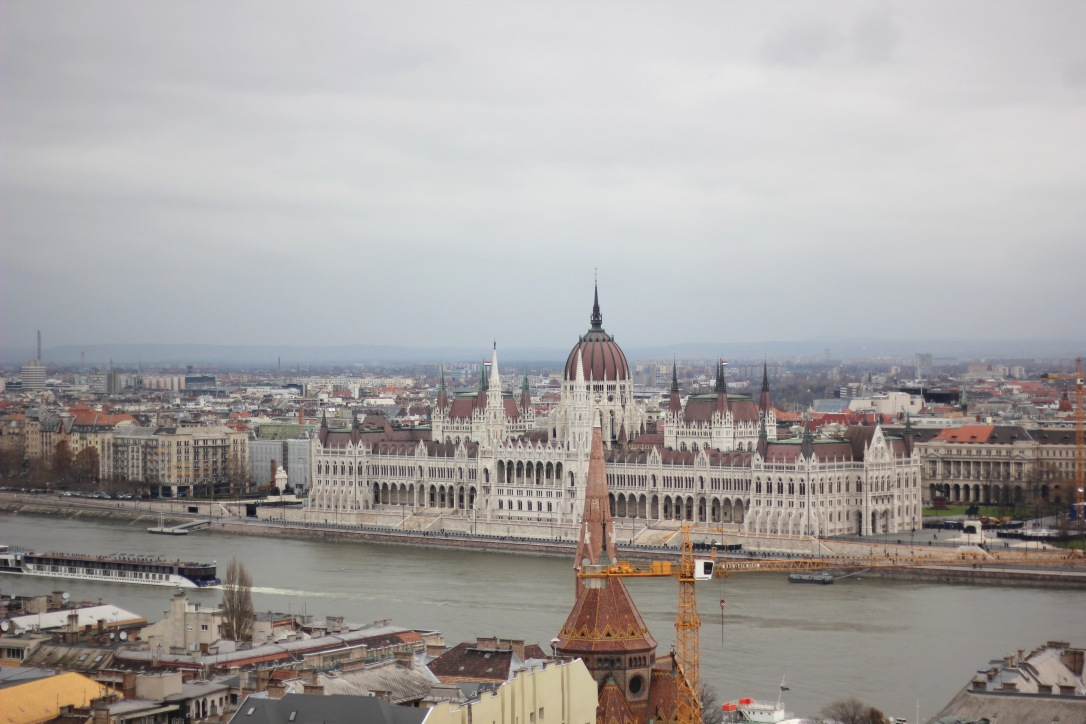 Hungarian Parliament from Fisherman's Bastion