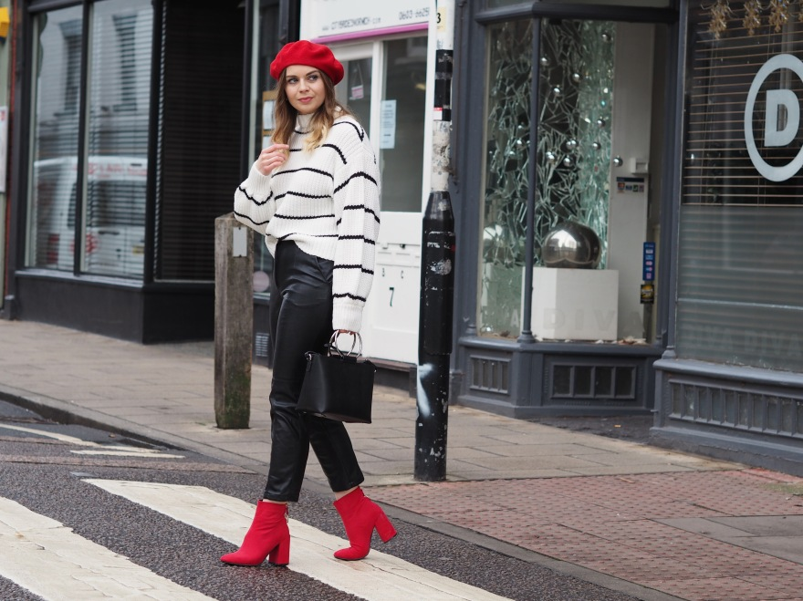 How to style red accessories
