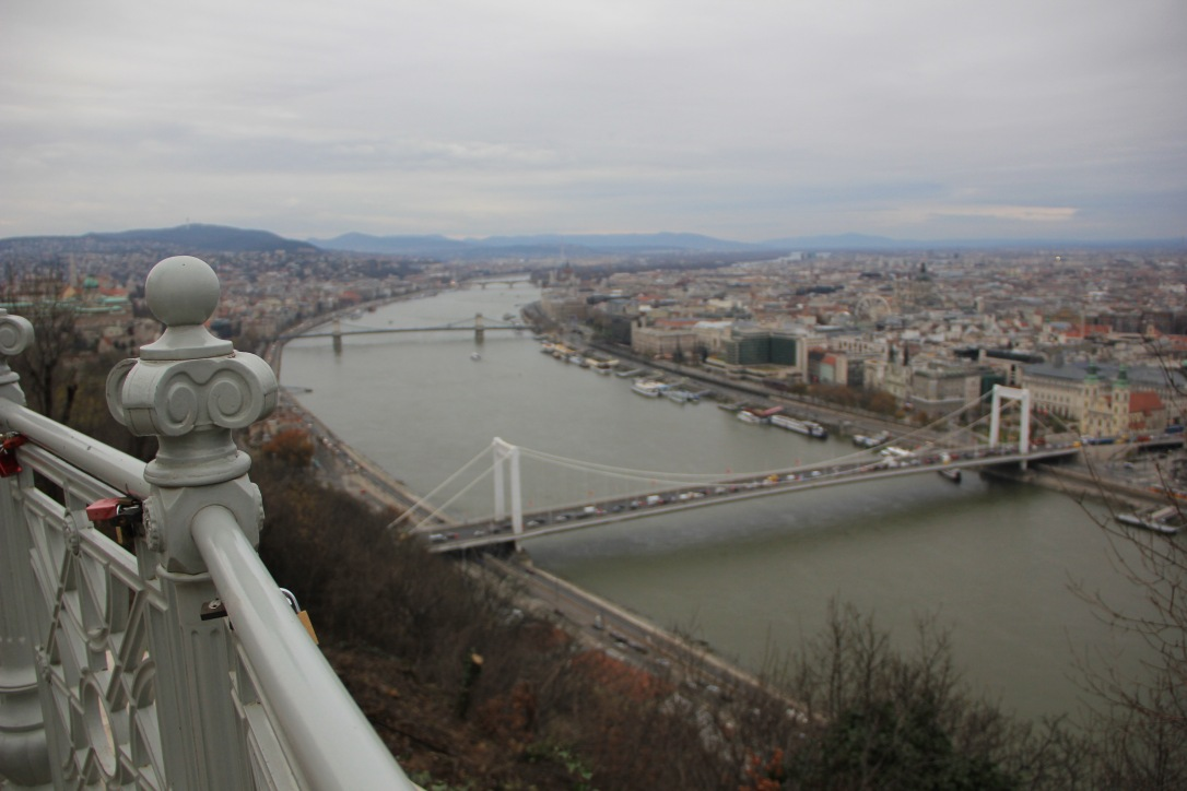 River Danube from Buda