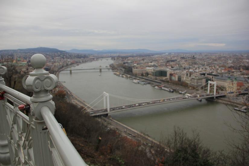 River Danube from Buda