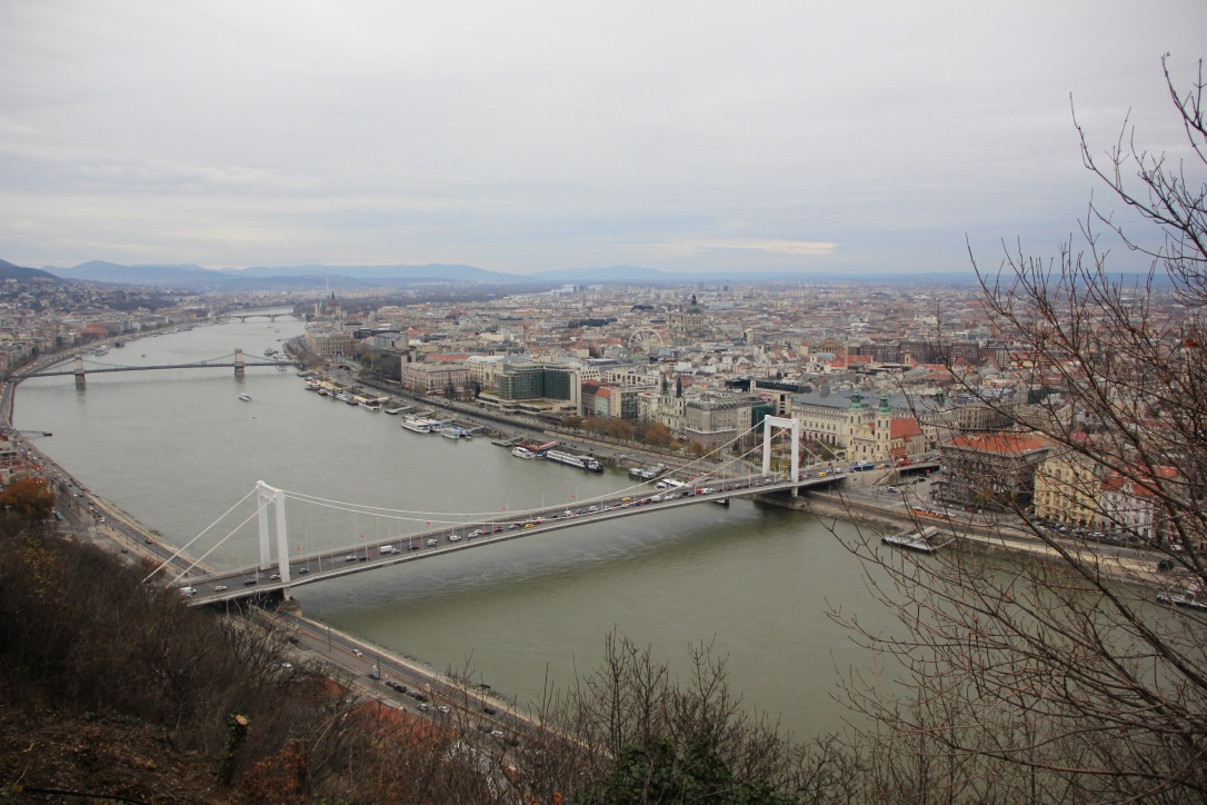 River Danube from Citadella Budapest