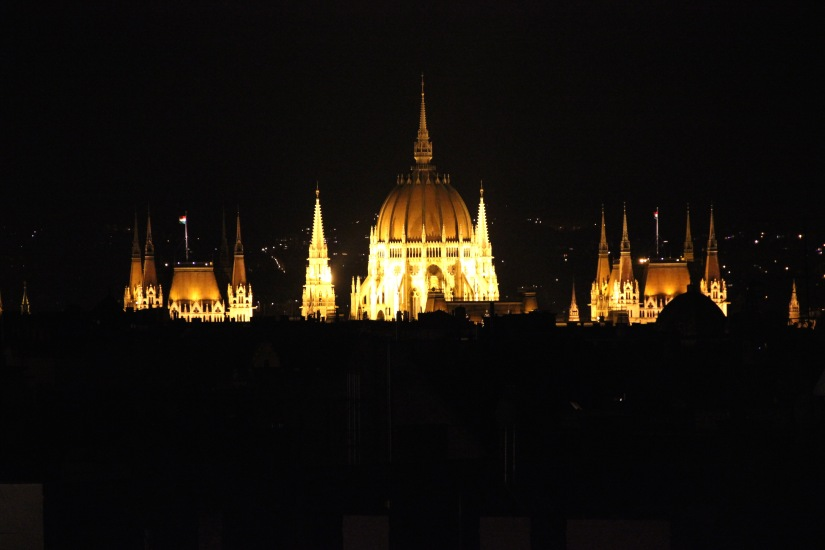 View from 360 bar Budapest