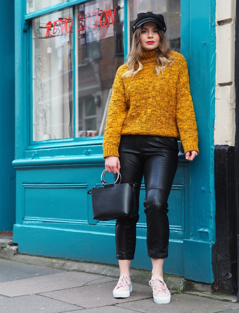 How to style a vintage jumper