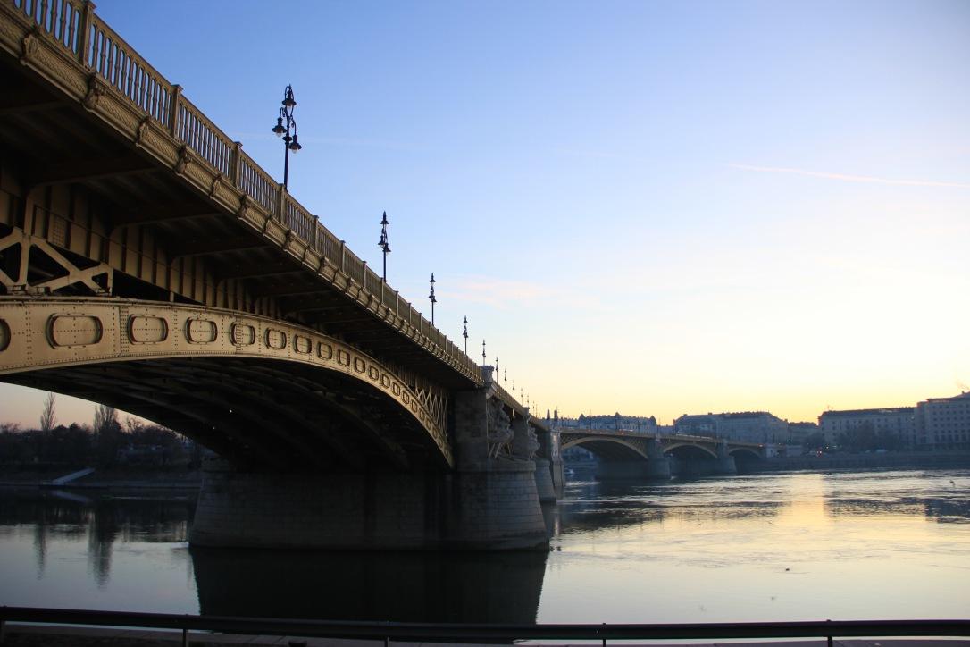 Sunrise in Budapest