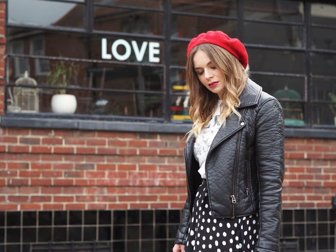 What to wear with a red beret