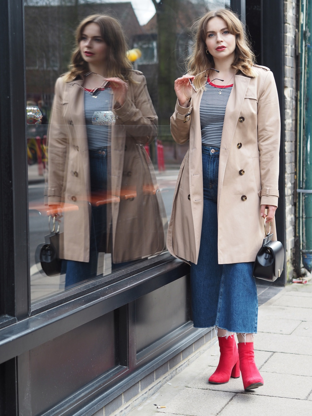 Spring trench coat styling