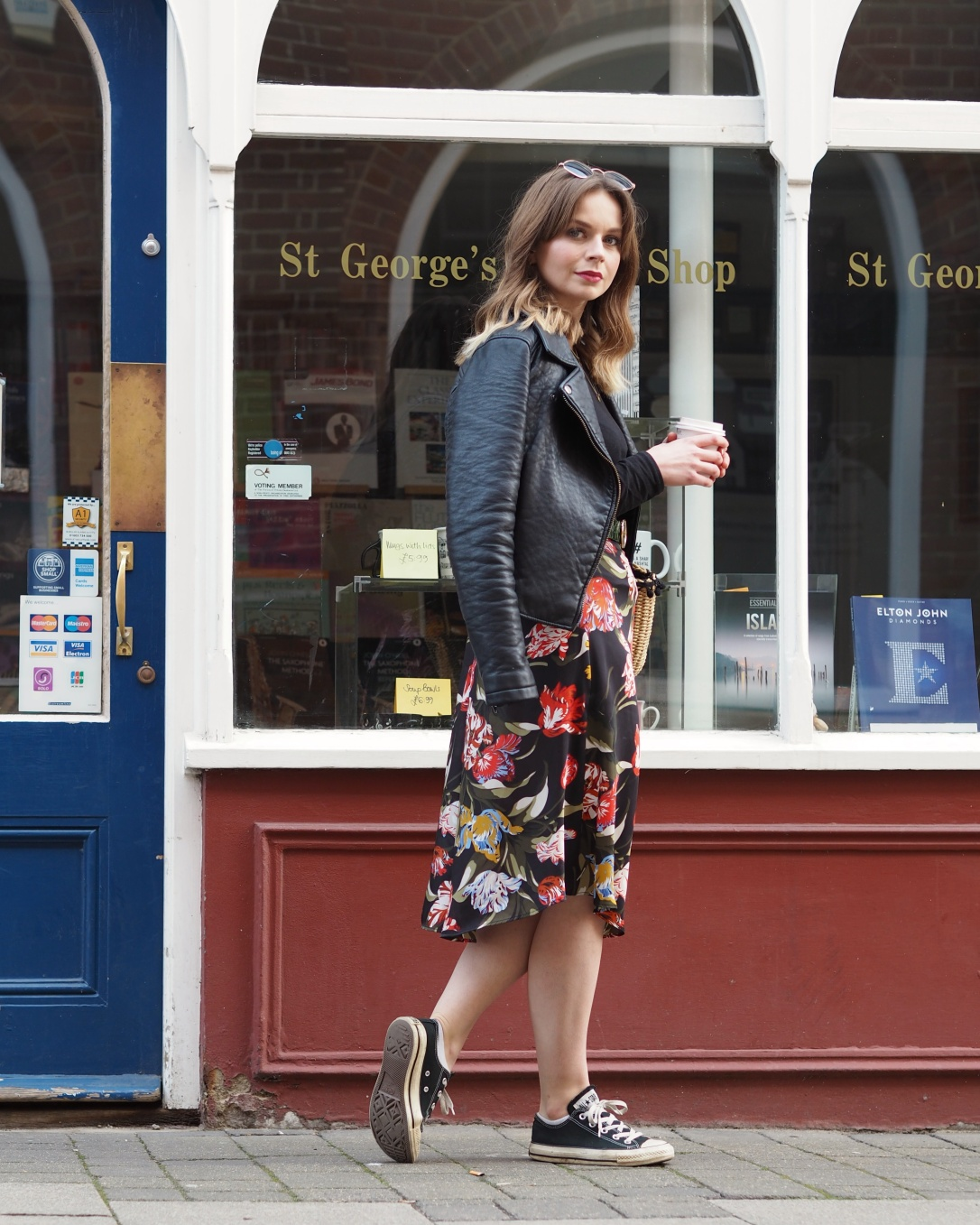 Winter to spring transitional outfit ideas