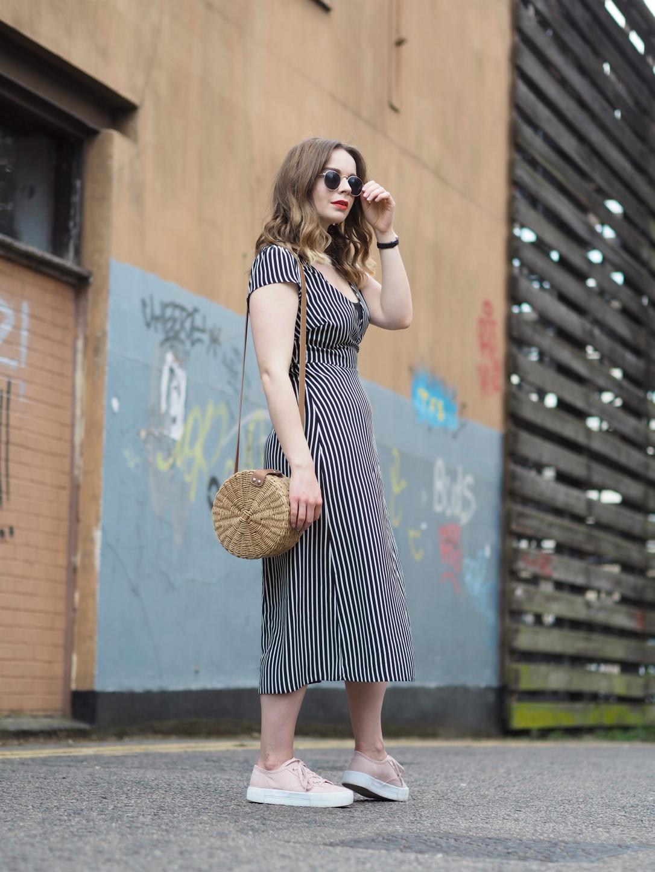 New Look stripy dress