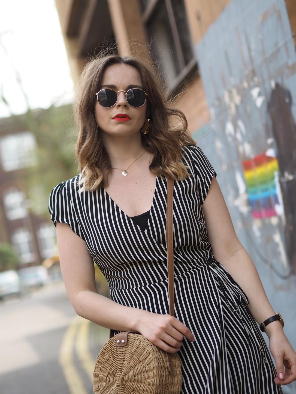 New Look striped dress
