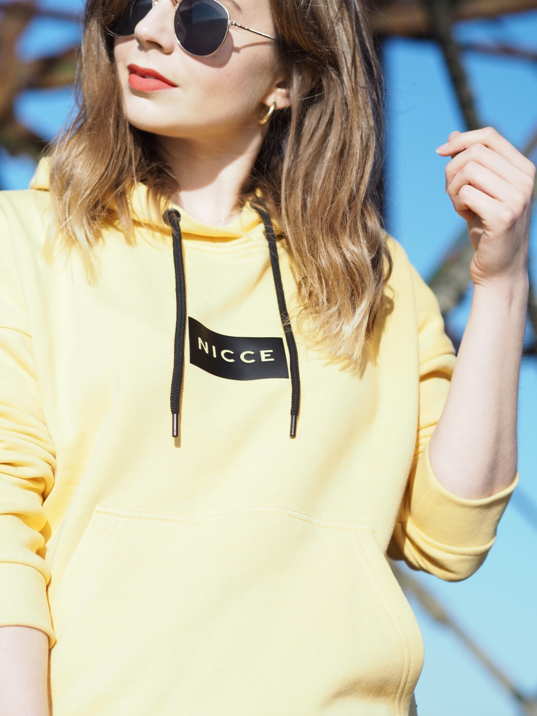 Nicce hoody beach outfit