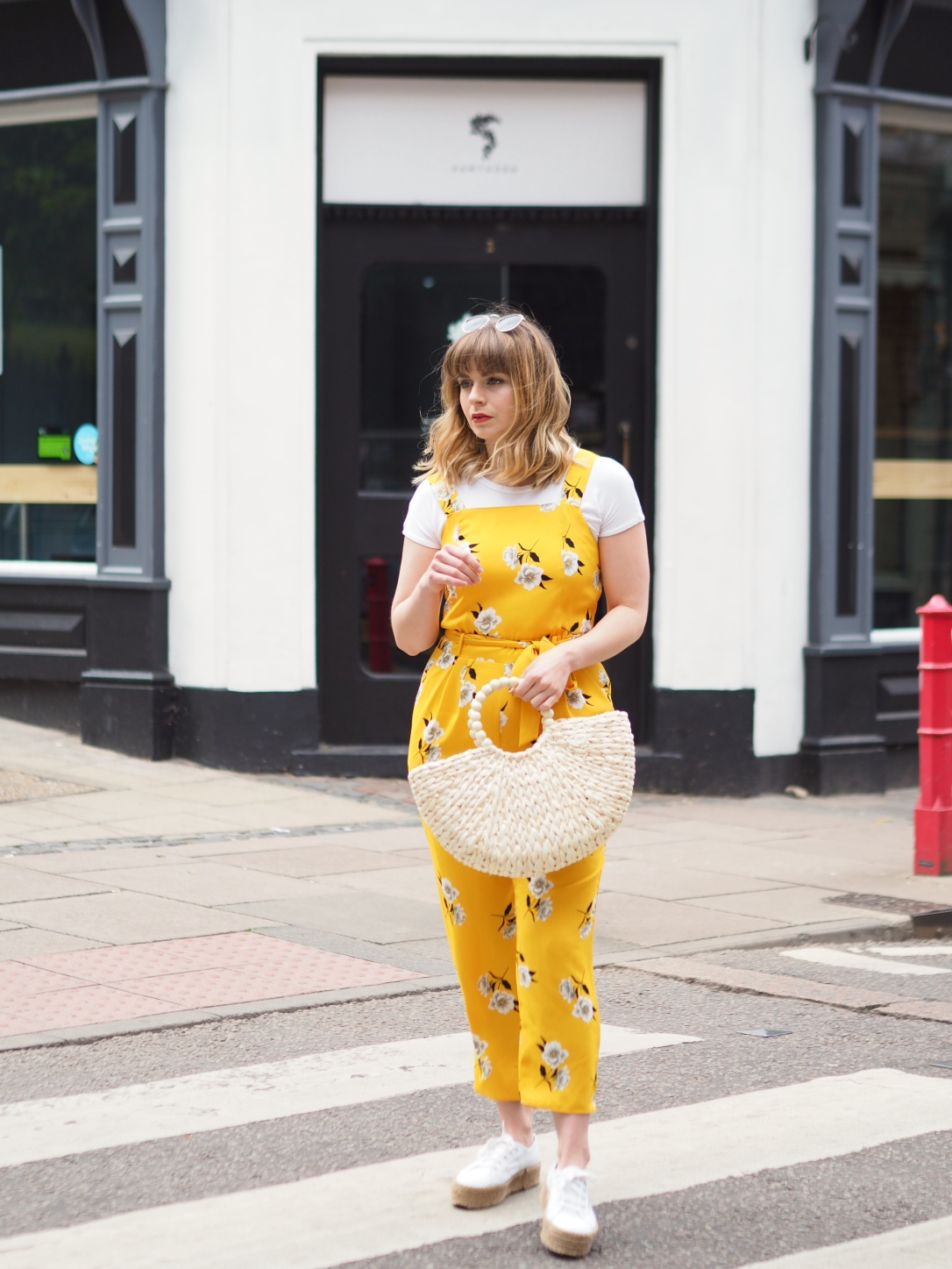 Dorothy Perkins yellow jumpsuit