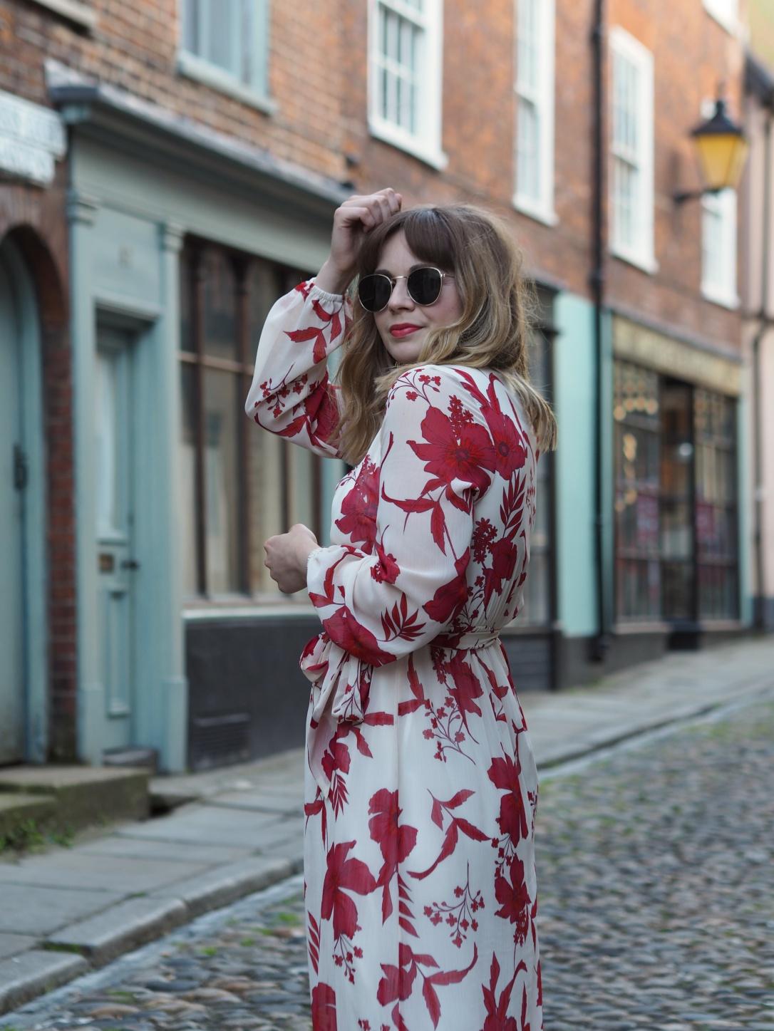 Dorothy Perkins floral maxi dress