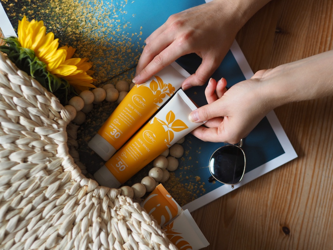 Tropic skincare sun care skin shade review