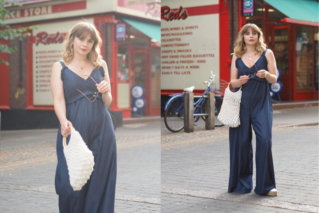 What to wear with a wide leg jumpsuit