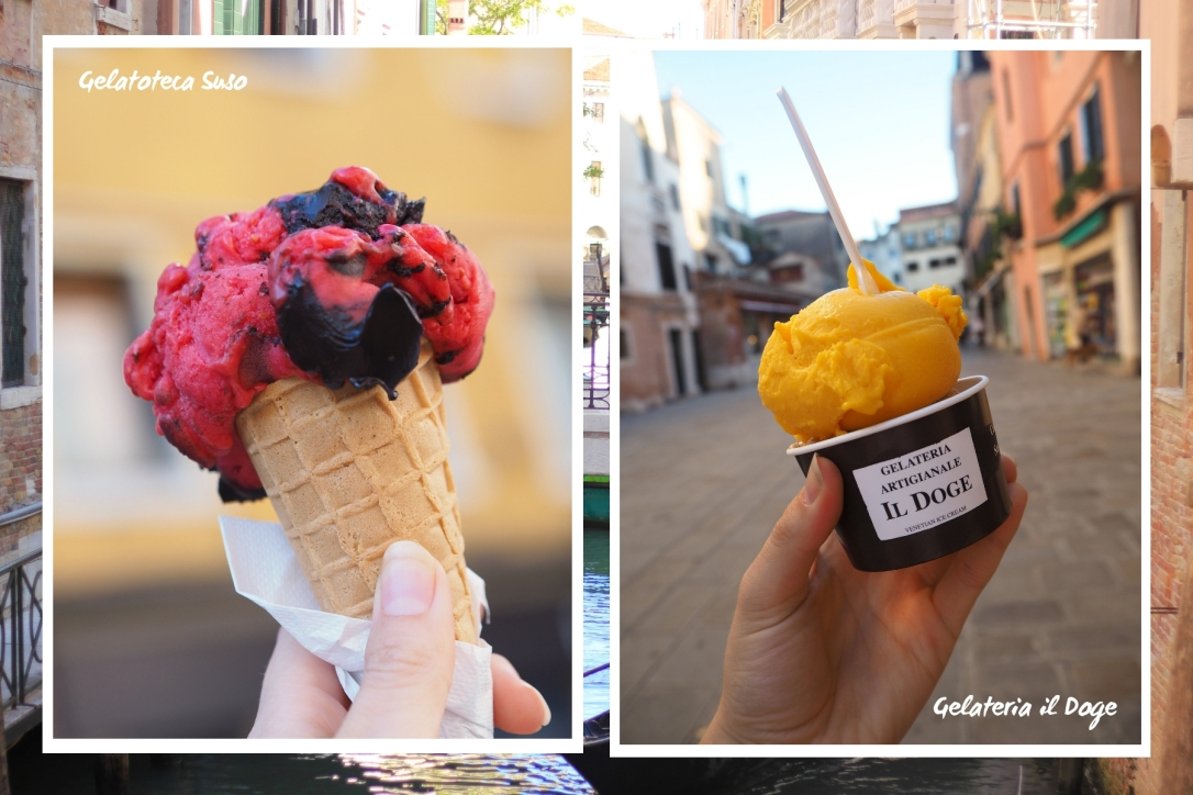 Where to eat vegan in Venice - gelato