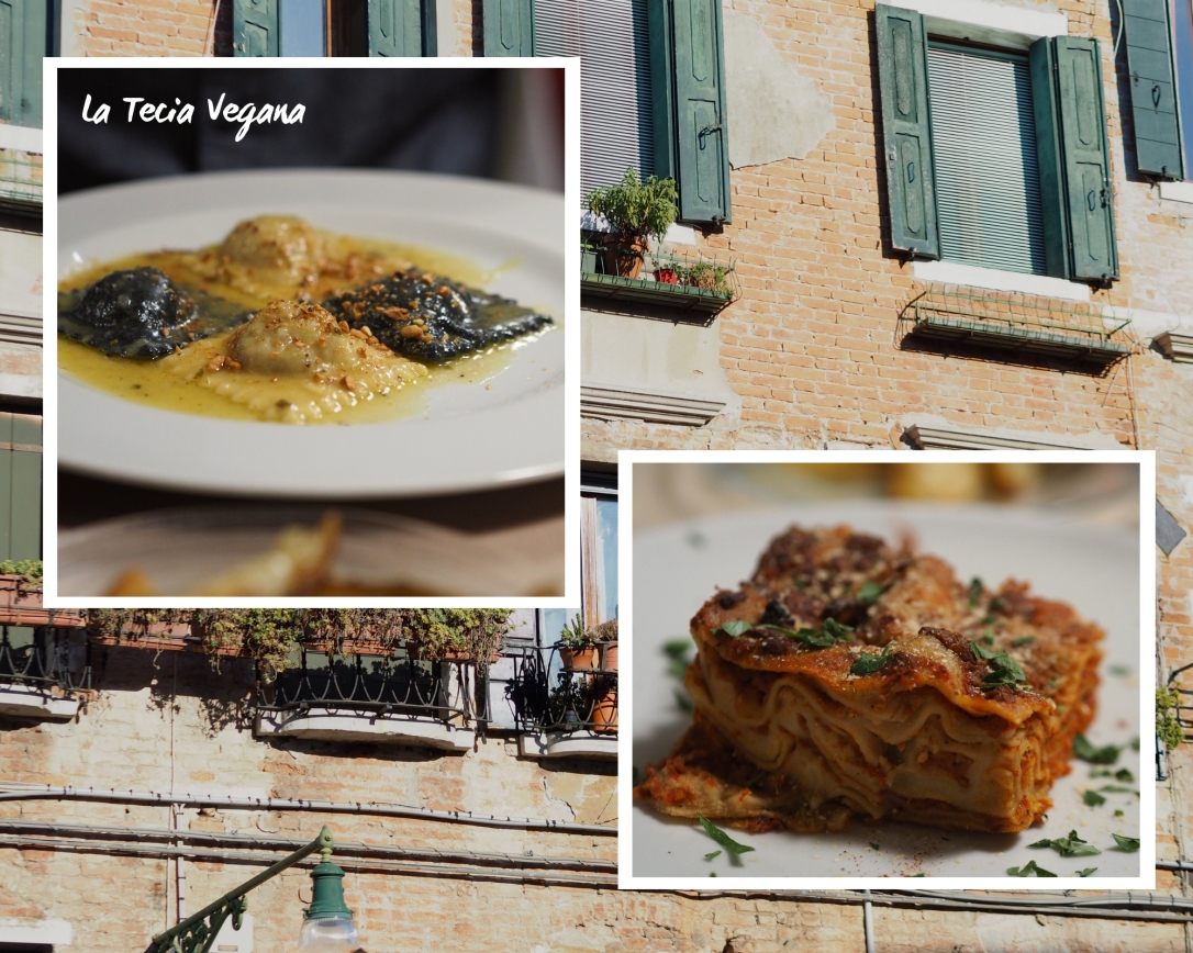 Where to eat vegan in Venice La Tecia Vegana