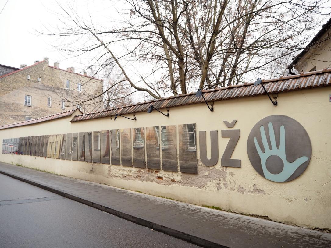 Vilnius Uzupis Constitution