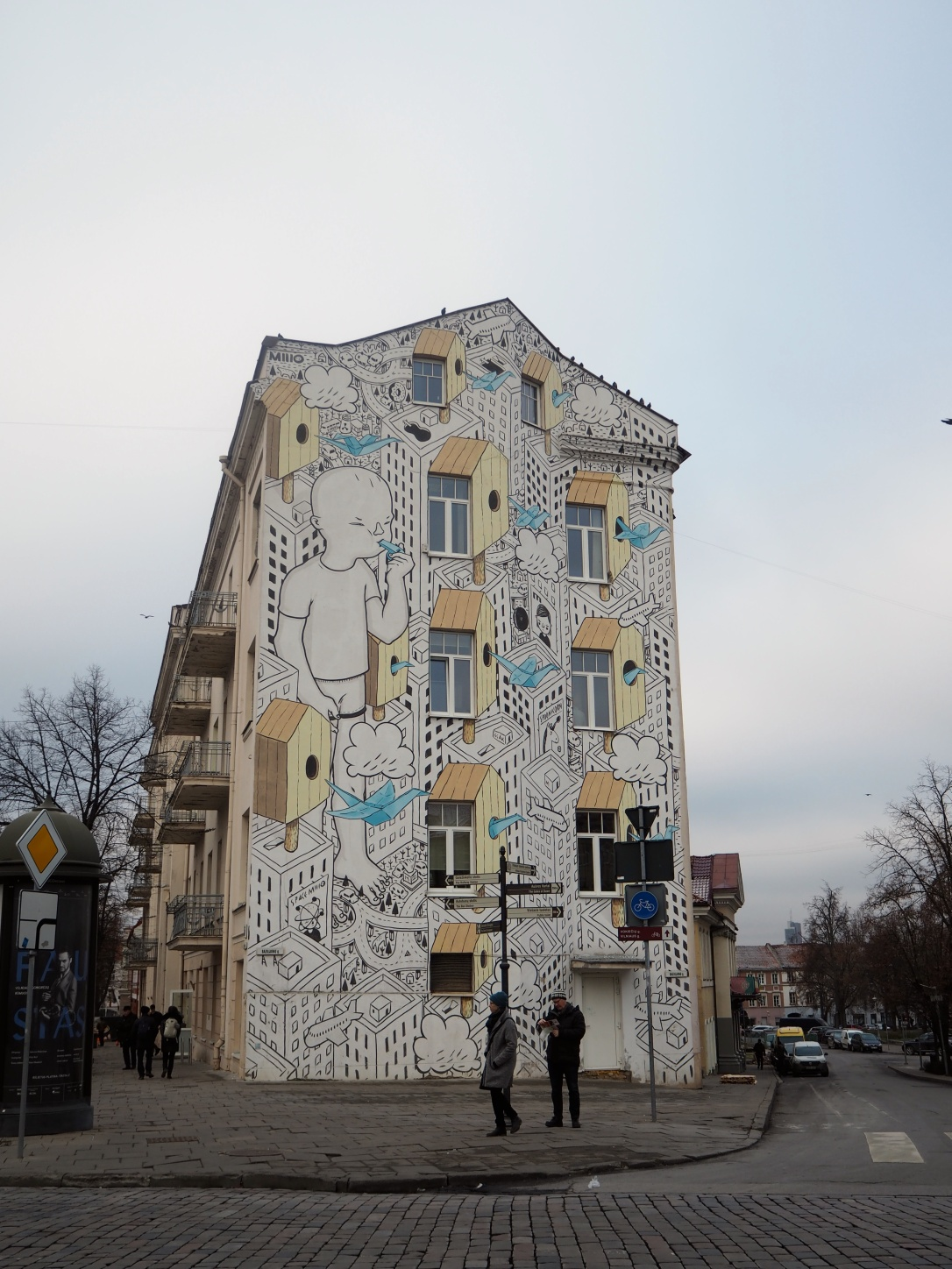 Street Art in Vilnius, Lithuania