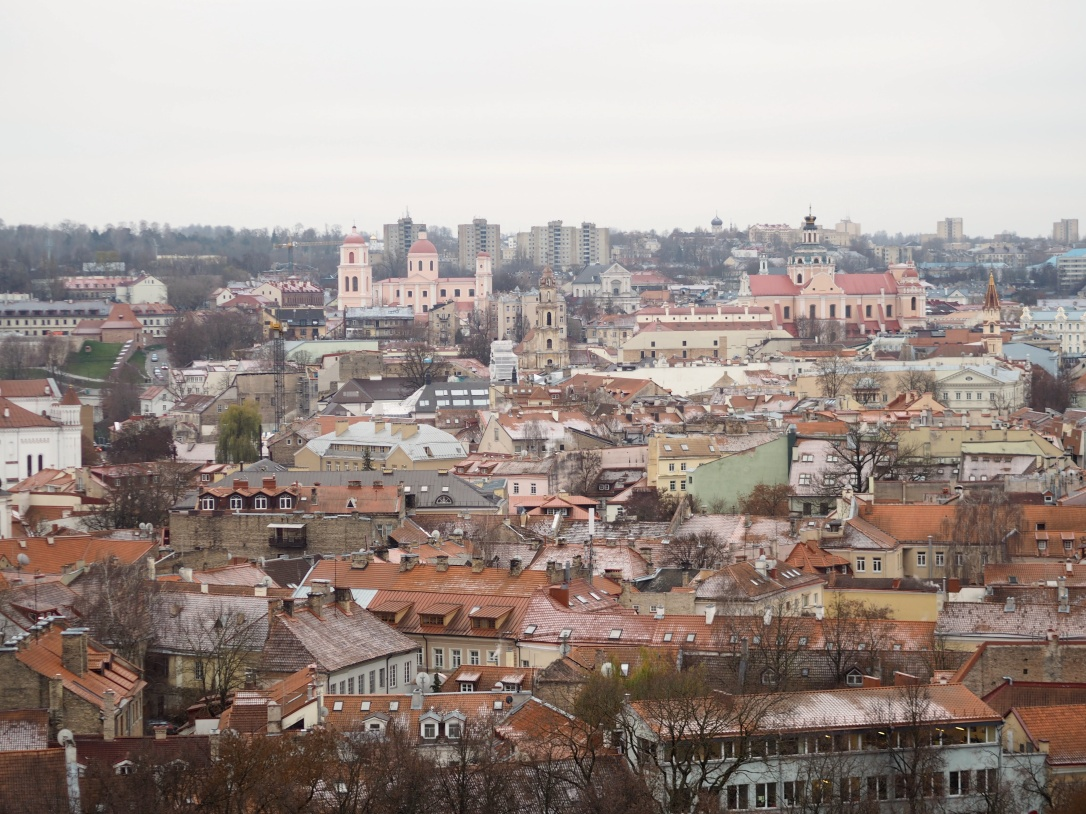 Views over Vilnius