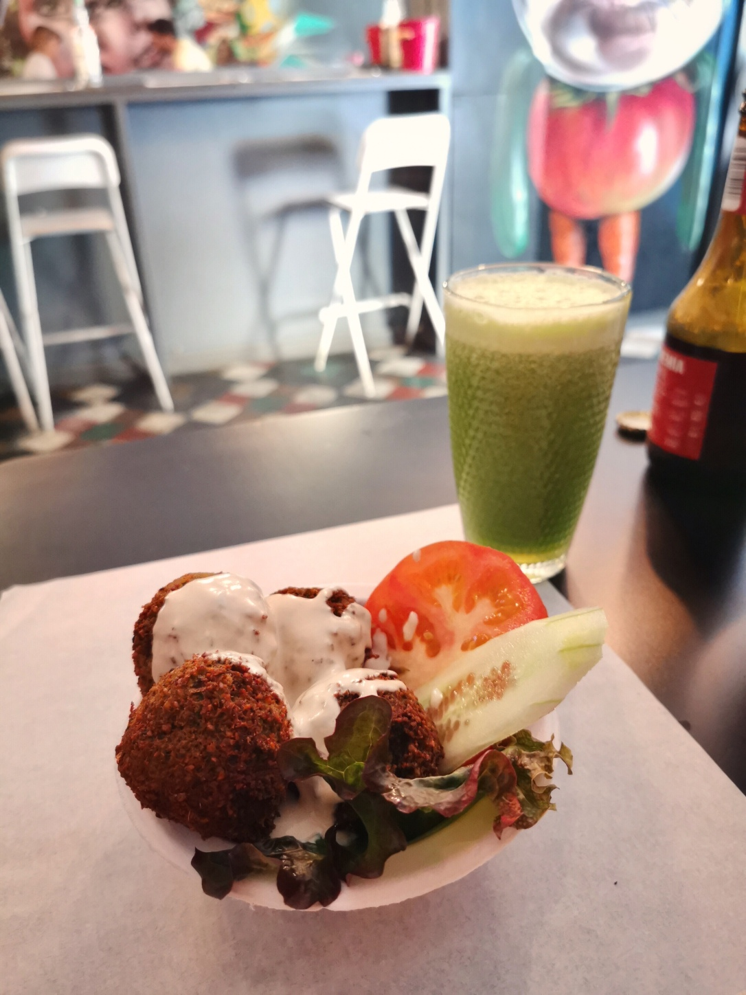 Where to eat vegan in Lisbon - Farm Food Ink Cafe