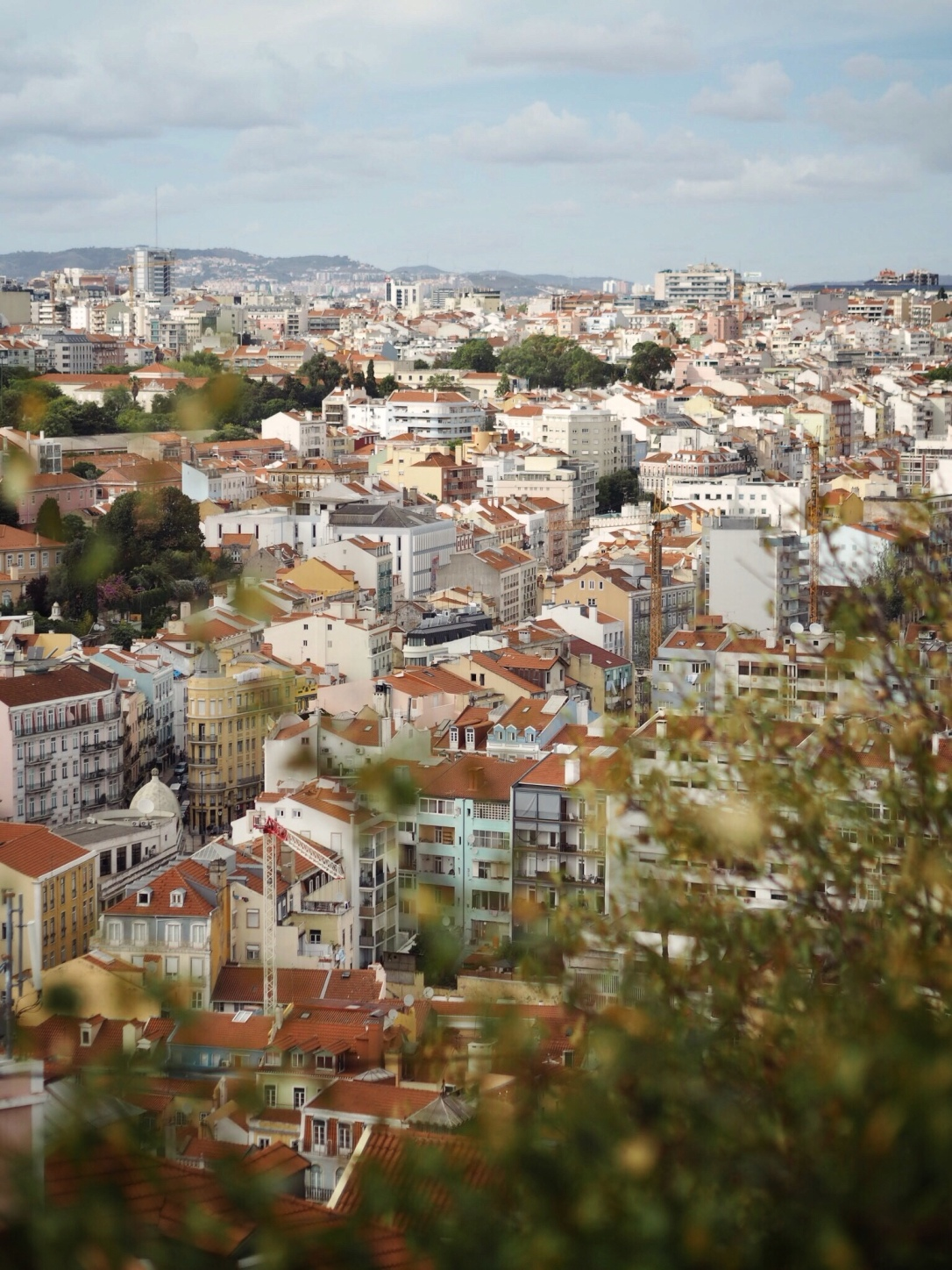 Miradouro - Viewpoint in Lisbon