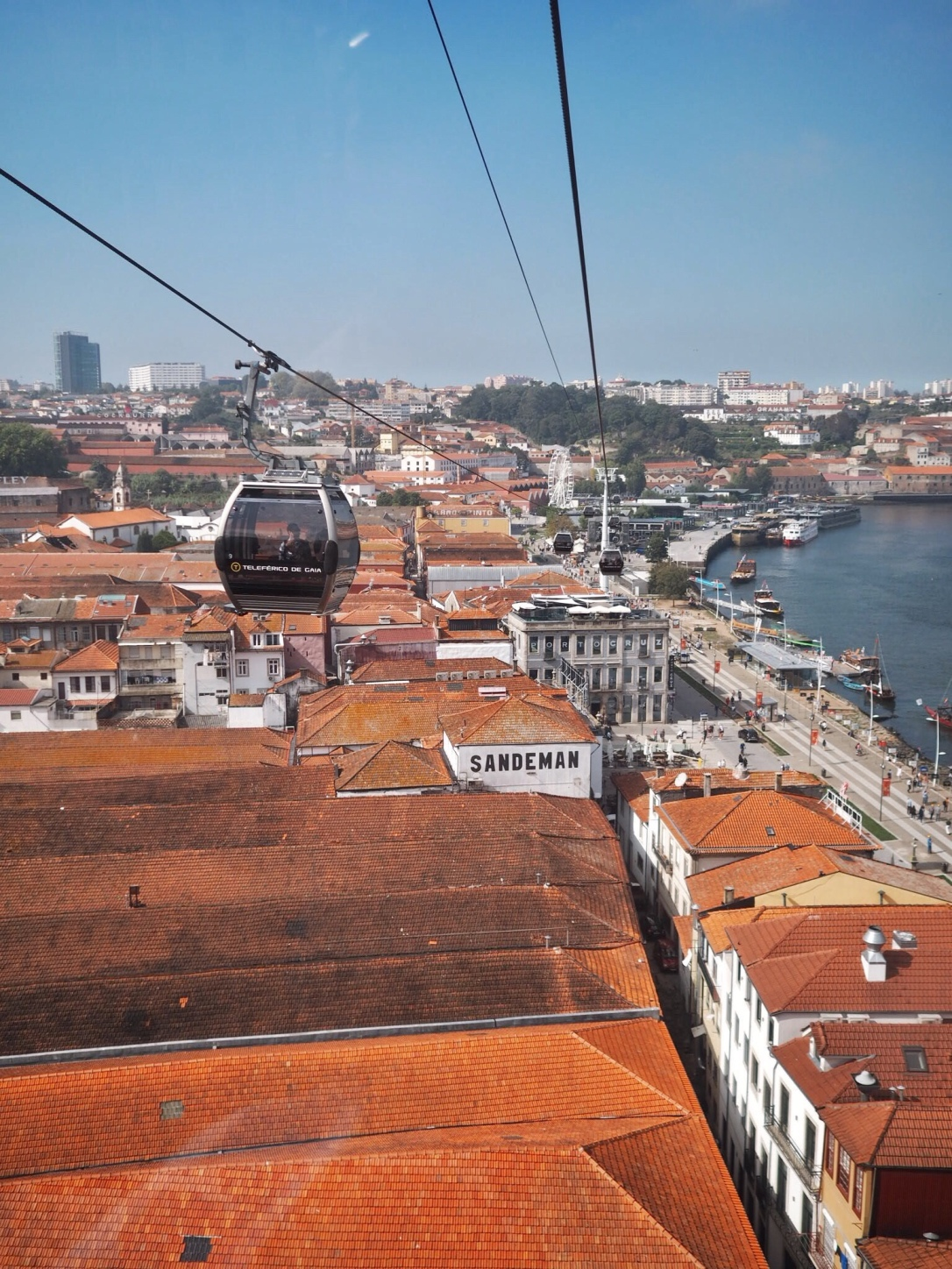 Gaia cable car - things to do in Porto
